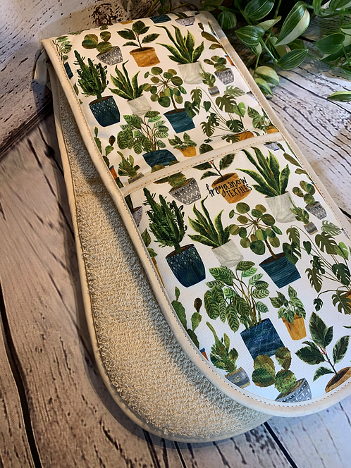 Hand-printed Oven Gloves