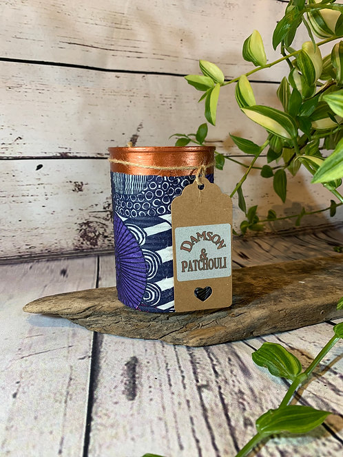 Damson and Patchouli Candle