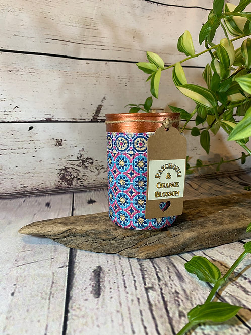 Patchouli and Orange Blossom Candle
