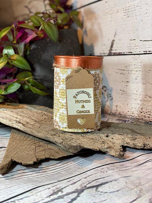 Patchouli, Nutmeg & Ginger Candle