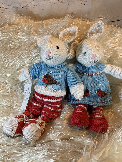 Knitted Animals Pairs