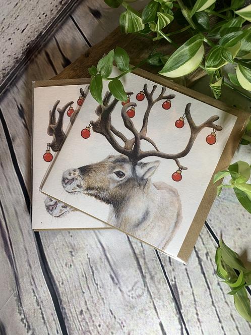 Christmas Reindeer Card