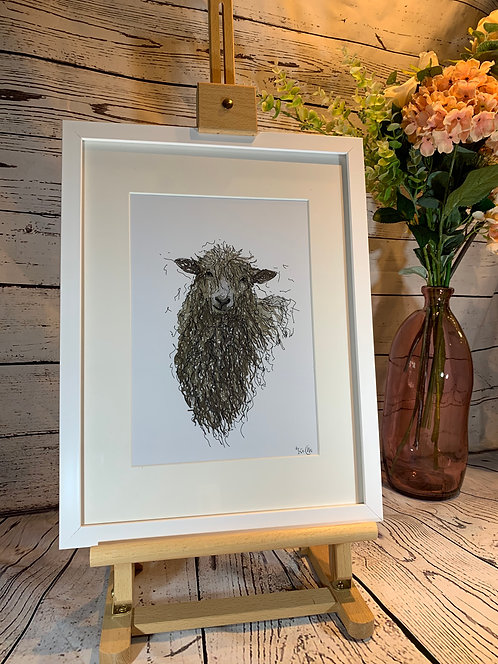 Cotswold Lion Limited Edition Print
