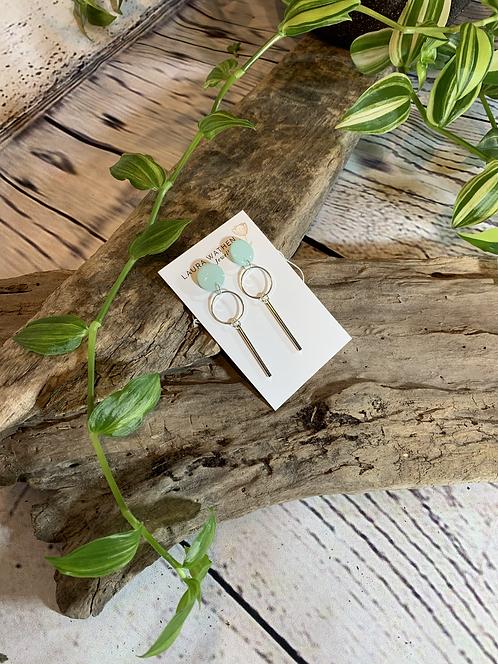 Mint Dangle Earrings