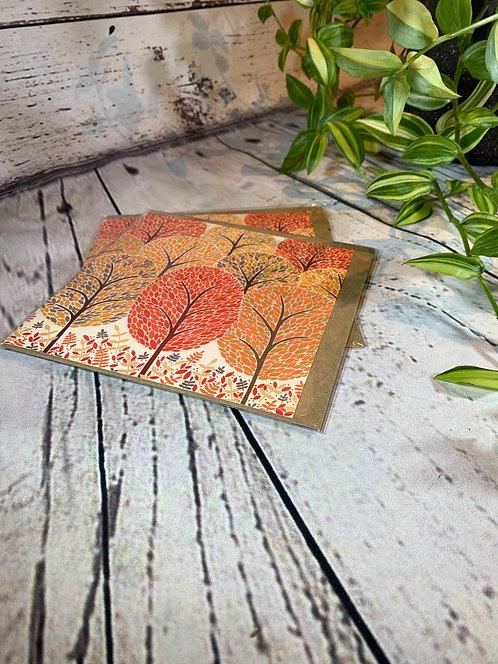 Autumn Trees Greeting Card