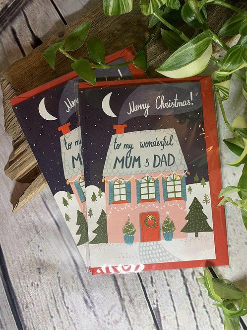 Wonderful Mum & Dad Card