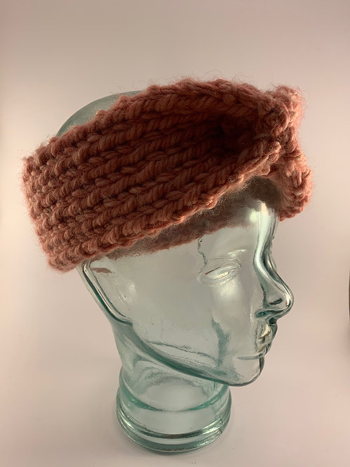 Hand-Knitted Woollen Headbands