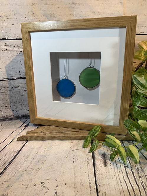 Hanging Glass Pictures