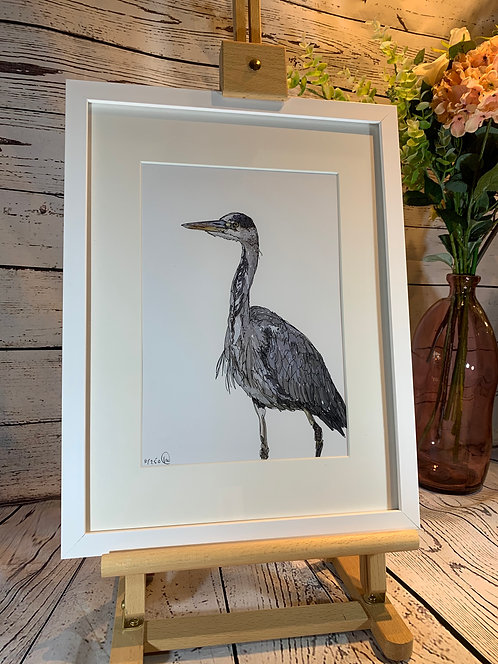 Heron Limited Edition Print