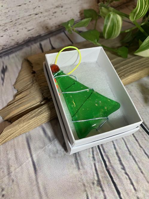 Glass Christmas Trees
