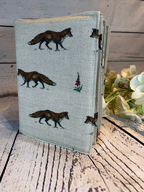 Fabric Covered 2021 Diary