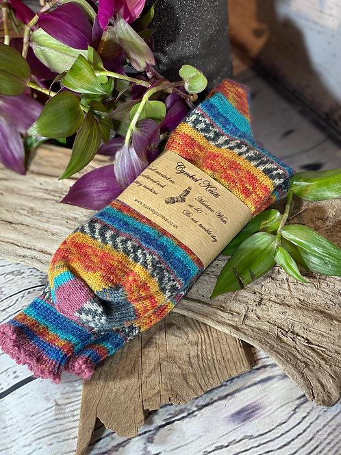 Woollen Socks Size 7-8