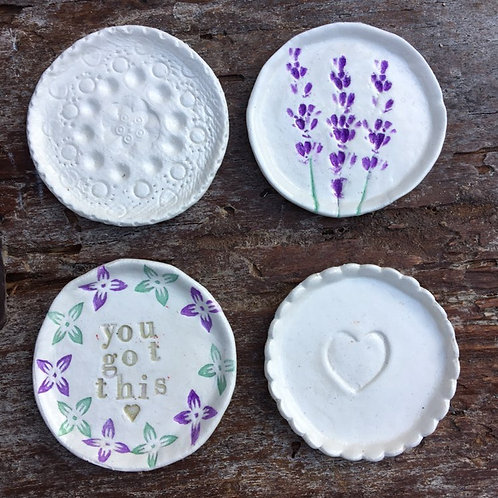 Little Dish Making with Sophie 16th Oct 2pm