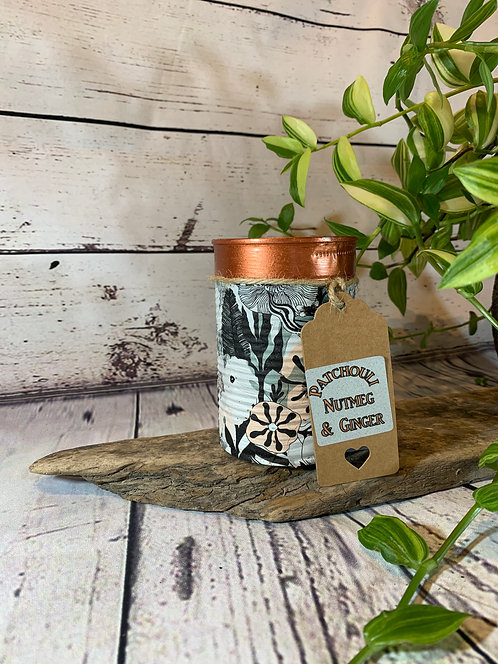 Patchouli, Nutmeg and Ginger Candle