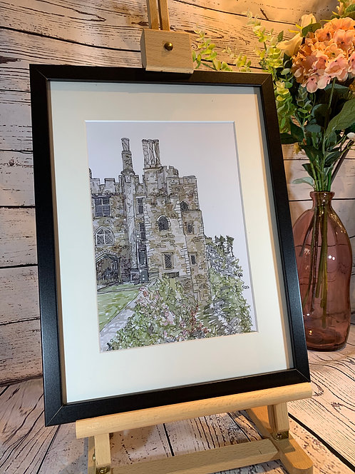Berkeley Castle Limited Edition Print