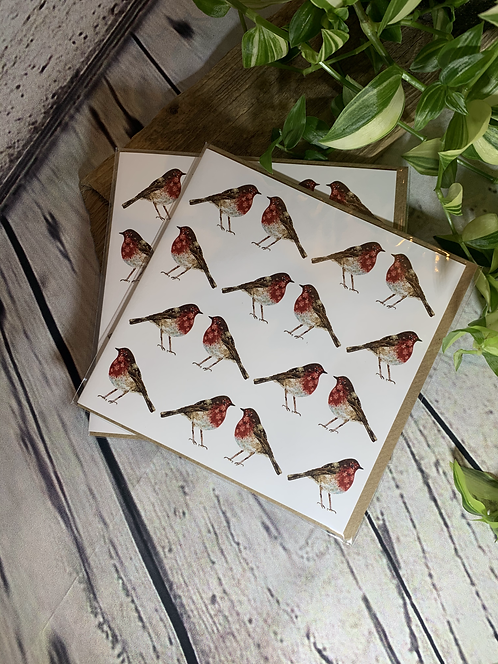 Lots of Robins Card