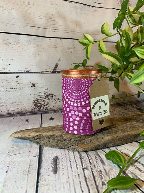 Pomegranate and White Fig Candle