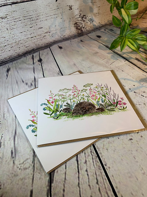 Summer Hedgehogs Card