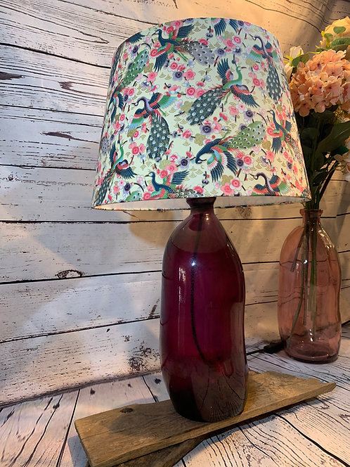 Peacock Lamp Shade