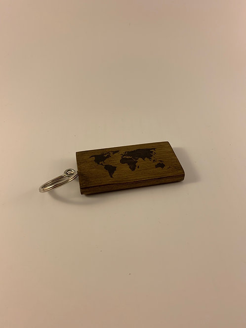 Map Key Ring