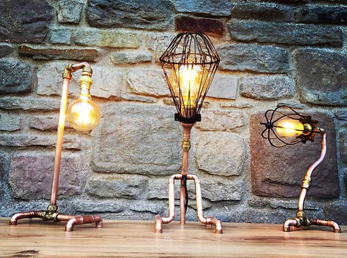 Copper Lamp Making with Jesse 23rd November