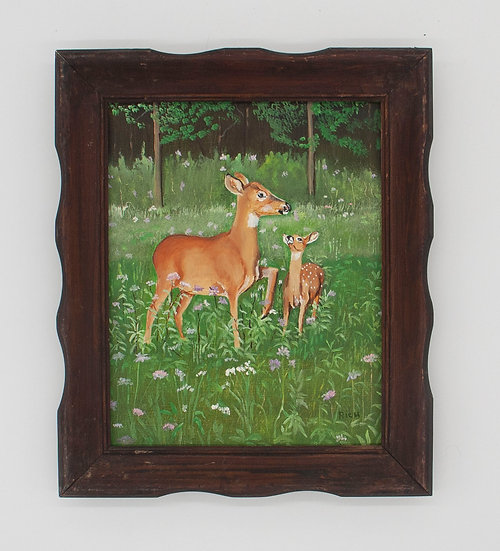 """""""White Tail and Fawn"""""""