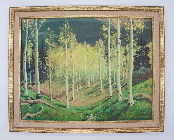 Among the Birch Trees