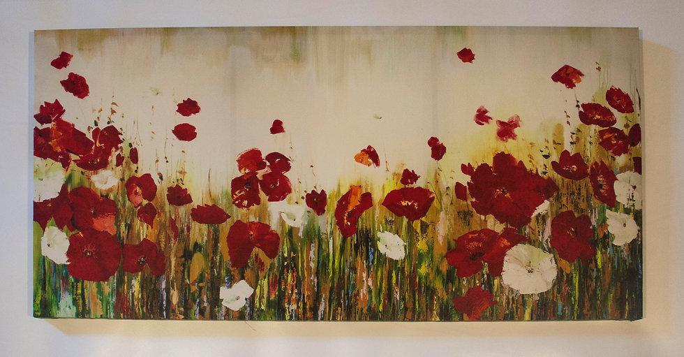 Poppy Field - Large