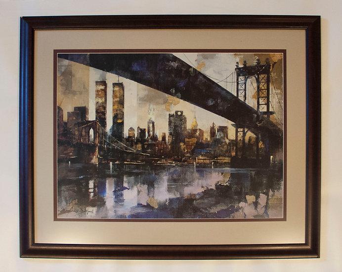 Artistic New York Skyline