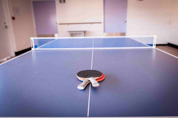 Ping pong table at Boarding House