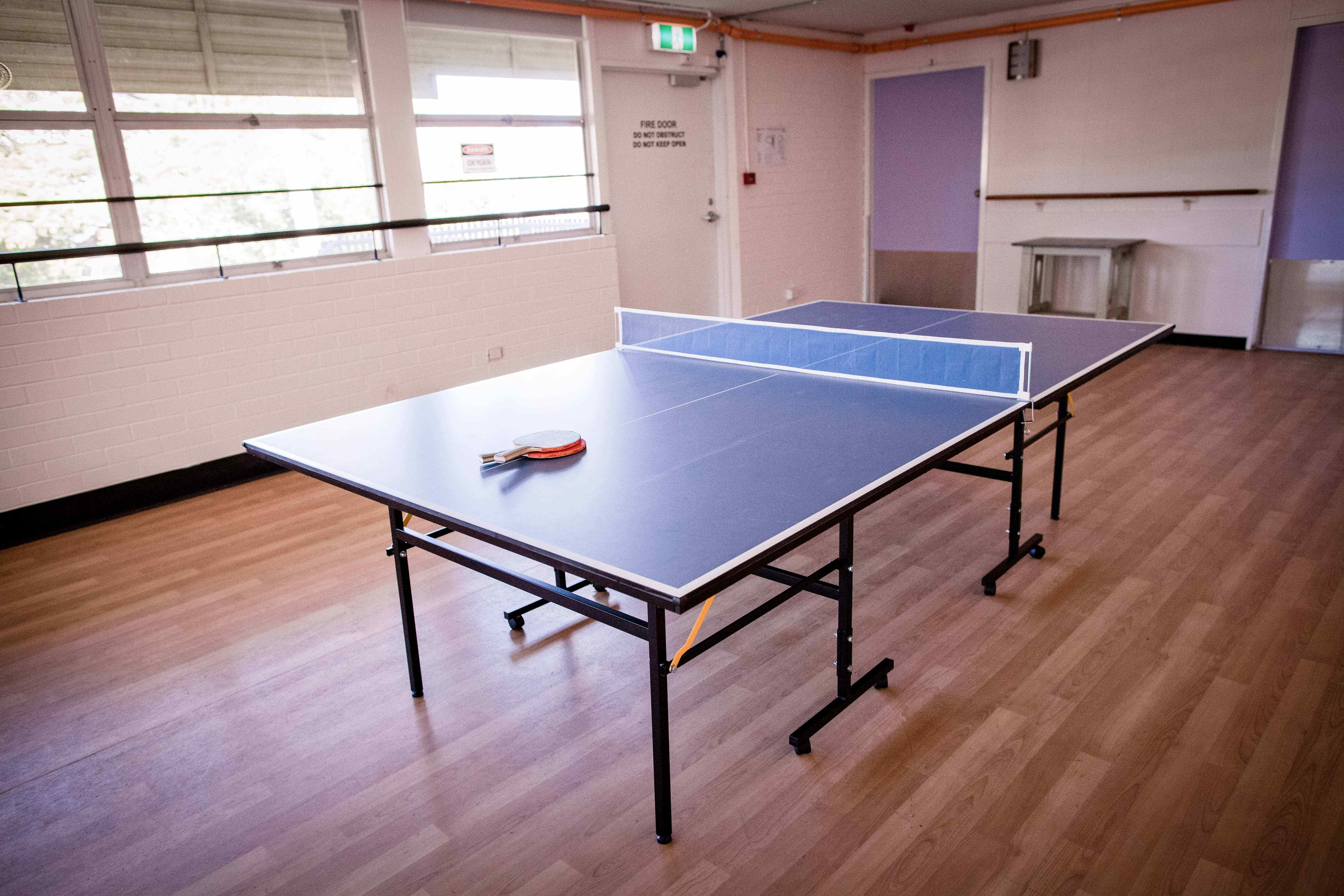 Ping pong table - disability housing