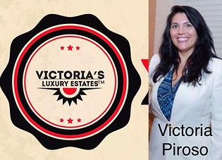 Broker Realtor Victoria Piroso owner of Victoria's Luxury Estates real estate office in Palm Beach island Florida 5618880025