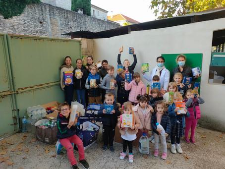 OCTOBRE 2020 : un appel aux dons pour aider les sinistrés des Alpes Maritimes