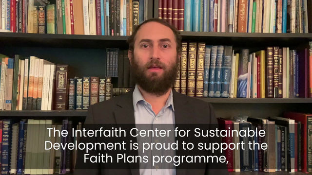 Message from Interfaith Centre for Sustainable Development
