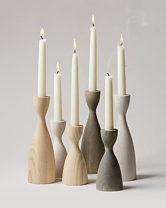 Pantry Candlestick Medium in Natural