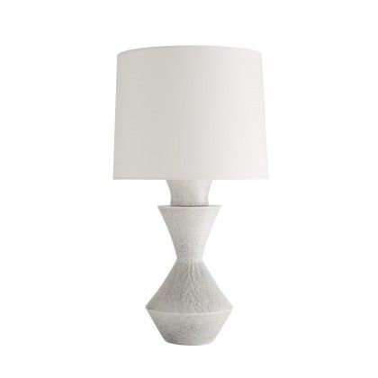 Charcoal Speckled Table Lamp