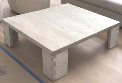 Reclaimed Light Elm Coffee Table