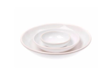 White Nesting Bowl- Large