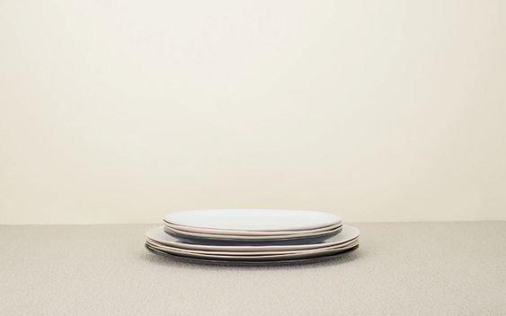 Organic Serveware- Medium White