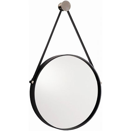 Leather Hanging Mirror