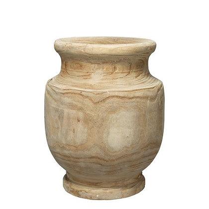Laguna Wooden Vase