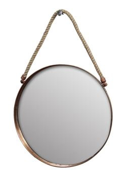 Copper & Rope Mirror