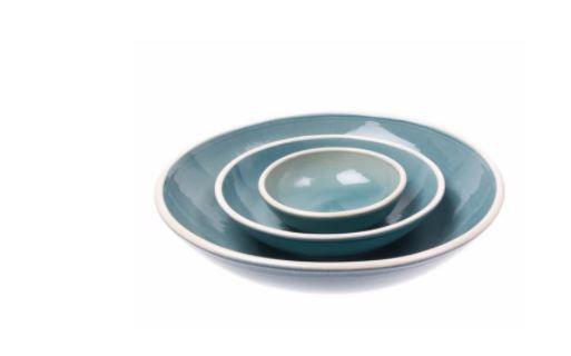 Blue Nesting Bowl- Large