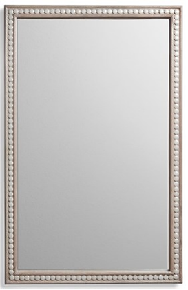 Cabochon Mirror in Cream