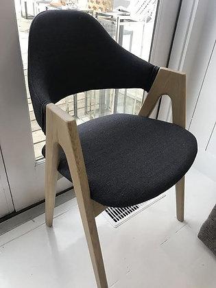 Midnight Linen Chair