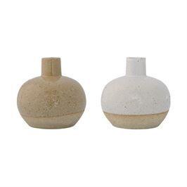 Two-Tone Textured Vase