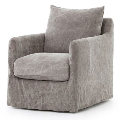 Stonewash Swivel Chair