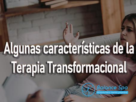 Algunas características de la Terapia Transformacional