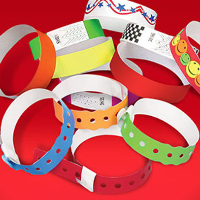 Winter Carnival Wristband