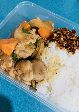 Taiwanese Braised Chicken & Sweet Potato with Jasmine Rice